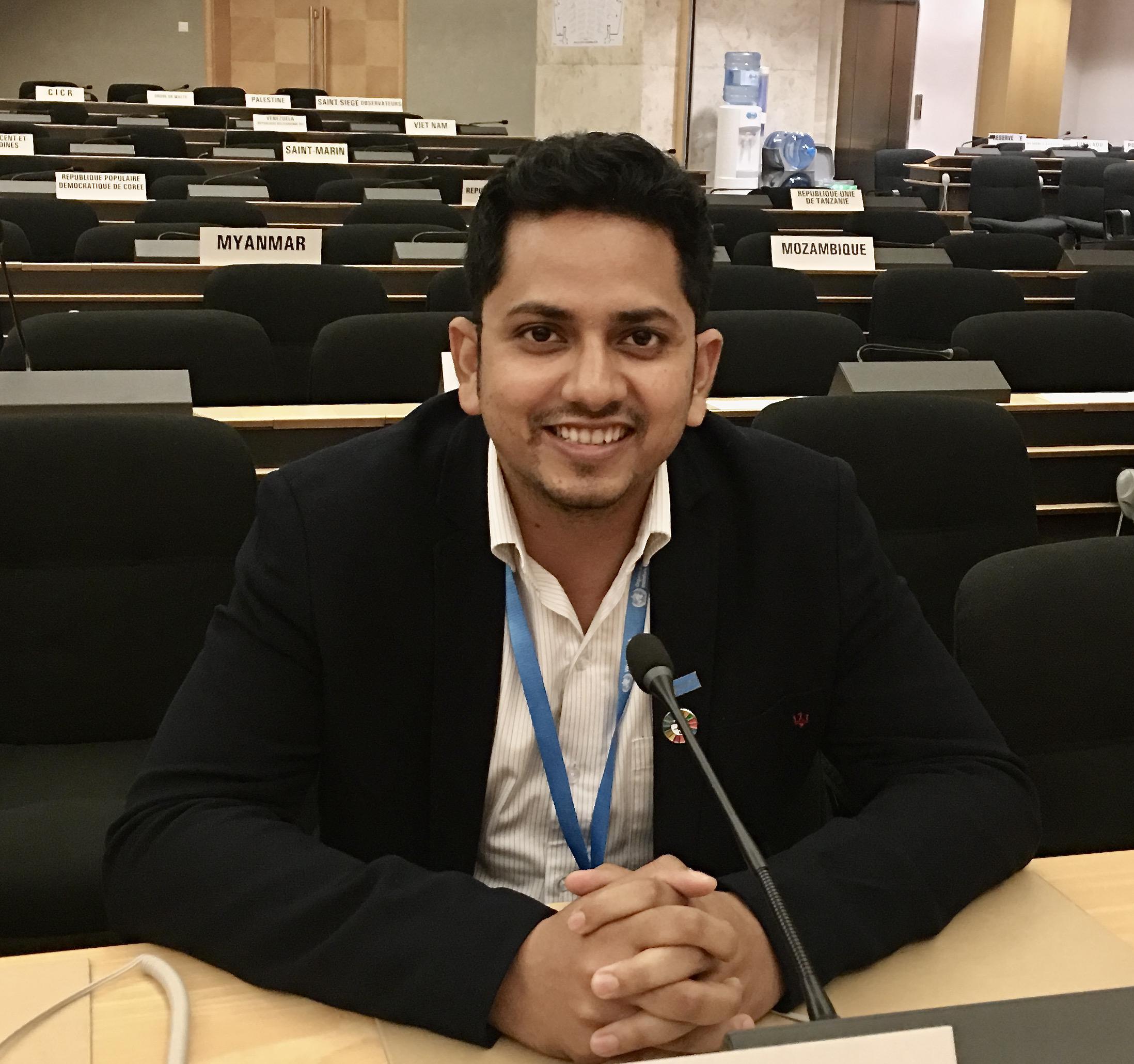 HPHR Fellow Ankit Raj