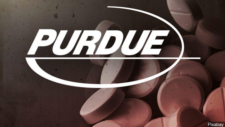 Purdue Drug Manufacturer Logo