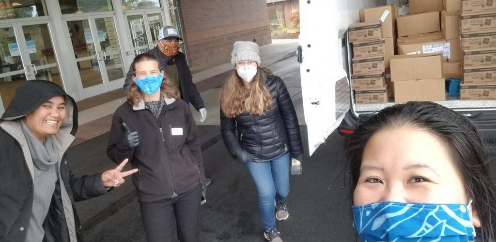 CHWs, Food Box distribution