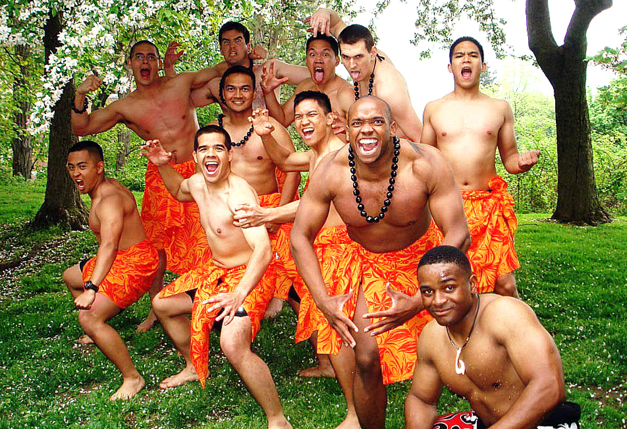 Cadets performed the Haka Dance during the eighth annual West Point Asian Pacific American Observance Celebration Friday at Trophy Point. A Haka is a traditional posture dance form with shouted accompaniment of the Maori of New Zealand. The U.S. Army photo