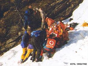 Dr. Anne Bagenholm rescue