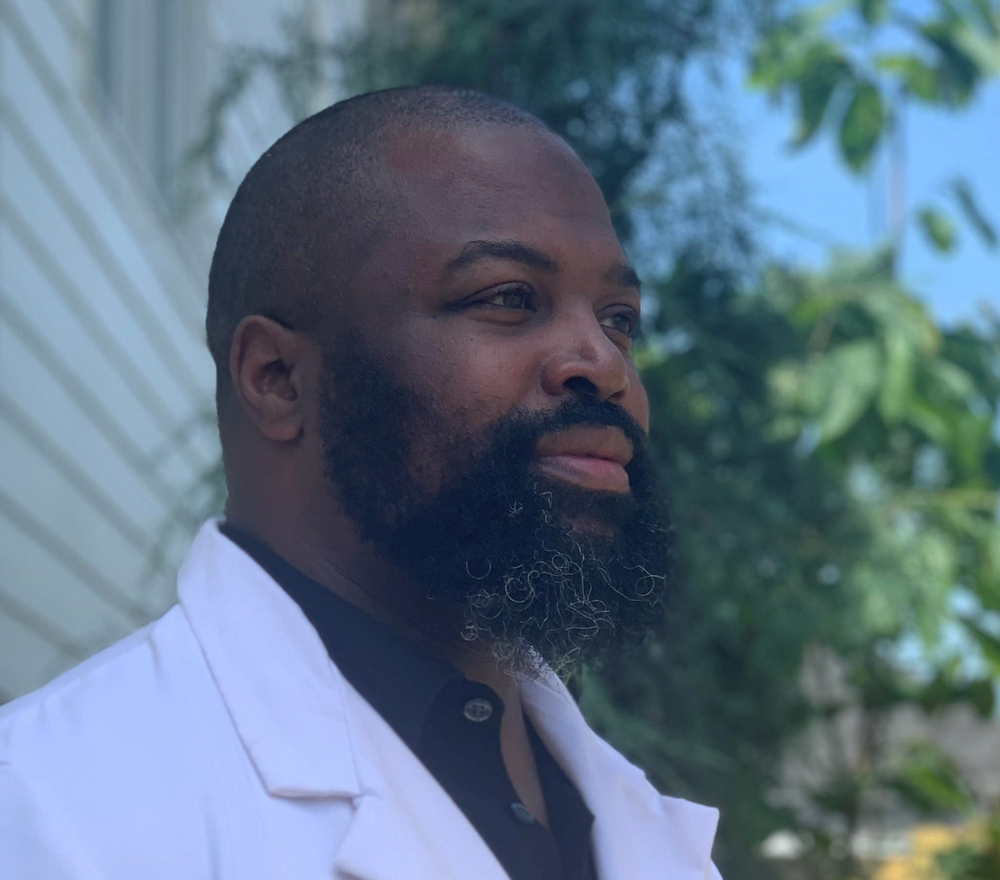 """Randevyn Pierre discusses """"Black Healthcare Hesitancy and Its Impact Profile 102: The Brown Paper Bag"""""""