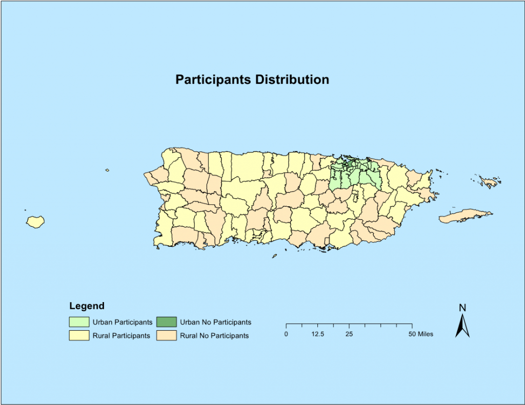 Geographic Differences in Access to HIV Prevention Services and Care Among Sexual Minority Men in Puerto Rico